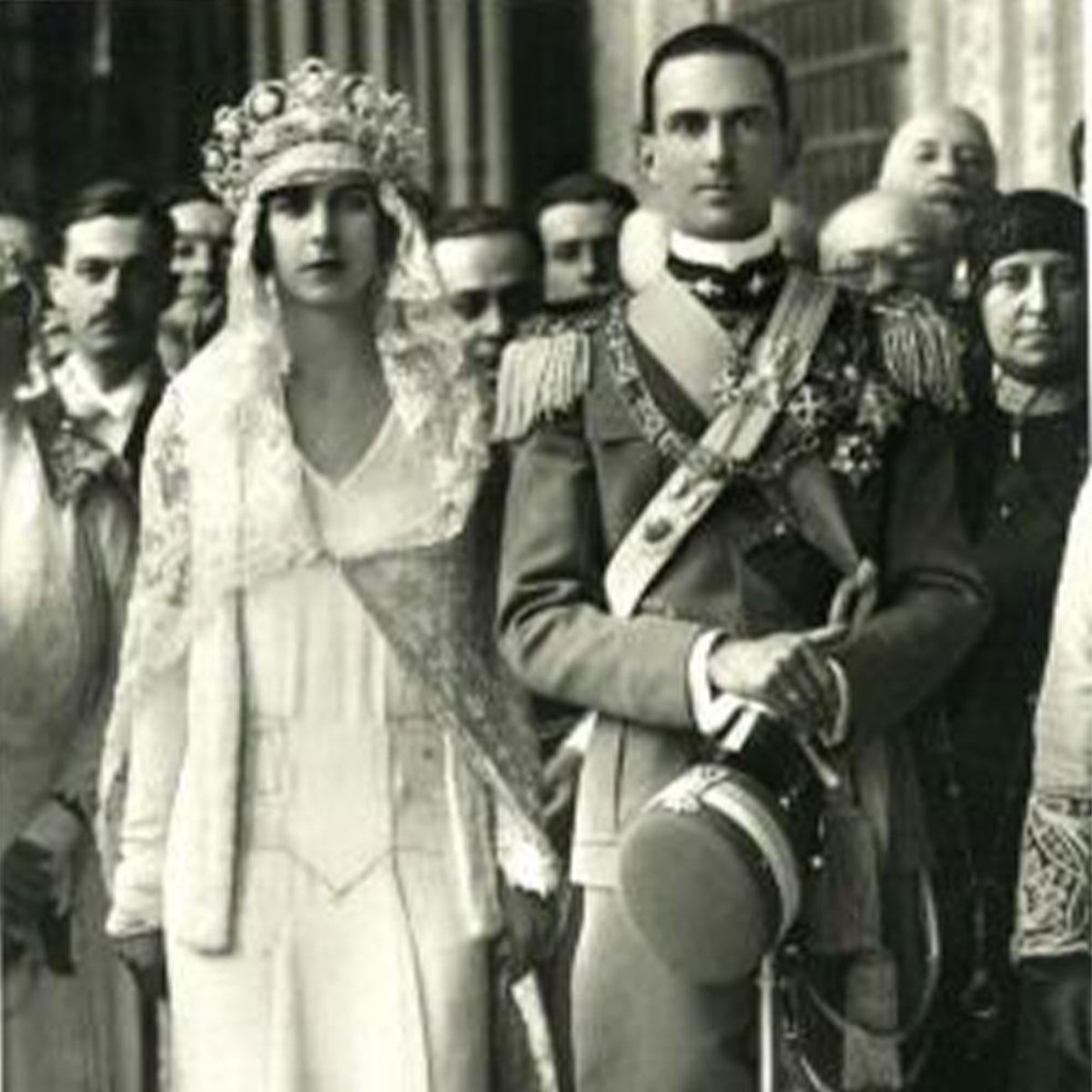 Principe Umberto e la Principessa Iolanda di Savoia
